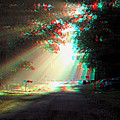 Morning Light - Use Red-cyan 3d Glasses by Brian Wallace
