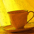 Morning Teacup by Jacqueline Milner