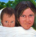 Mother And Child by Merle Blair