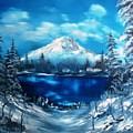 Mount Hood - Opus 2 by Larry Hamilton