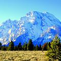 Mount Moran by Lynn Bawden