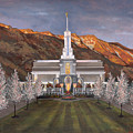 Mount Timpanogos Temple by Jeff Brimley