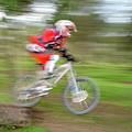 Mountain Bike Rider by Ilan Amihai