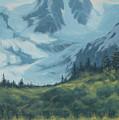 Mountain Peak by Marte Thompson