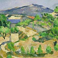 Mountains In Provence by Paul Cezanne