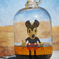 Mouse In A Bottle  by Jerry Cordeiro