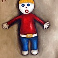 Mr. Bill by Leah Saulnier The Painting Maniac