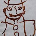Mr Leopold Bloom by Roger Cummiskey
