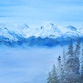 Mt. Whistler Canada  by Tina Haeger
