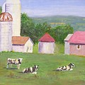 Mud Lake Dairy Farm by Joseph Stevenson
