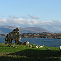 Mull And The Trossachs From Iona by Maria Joy