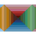 Multi-color Graphic Horizontal Maze by Beverly Trivane