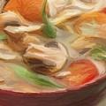 Mushroom And Vegetable Soup by Yuki Othsuka