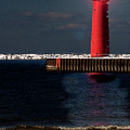 Muskegon Mi Lighthouse by Marti Buckely