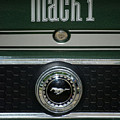 Mustang Mach 1 Emblem by Thomas Woolworth