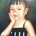 My Little Daughter by Edy Sutowo