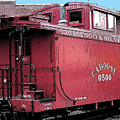 My Little Red Caboose by Gary Baird