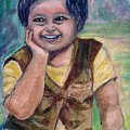 My Son When He Was A Toddler by Asha Sudhaker Shenoy