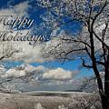 My Sunday Happy Holidays Card by Lois Bryan