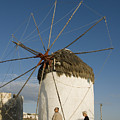Mykonos Icon Windmill by Charles  Ridgway