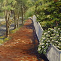 Nantucket Fence Number Three by Andrea Birdsey Kelly