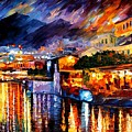 Naples - Vesuvius by Leonid Afremov