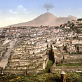 Naples: Mt. Vesuvius by Granger