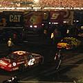 Nascar  - Juan Pablo Montoya Returns To Garages After Coke Zero 400 by Jamie Baldwin