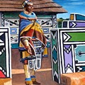 Ndebele Color by Tim Johnson