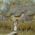 Near Freshwater Isle Of Wight by Helen Allingham
