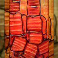 Ned Kelly Art - Sunset Killers by Joan Kamaru