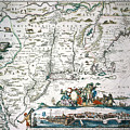 New Netherland Map by Granger