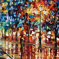 New Park by Leonid Afremov