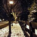 New Winter Snow by Nicholas J Mast