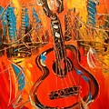 New York Guitar by Mark Kazav