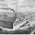 New York: Iron Works, 1876 by Granger