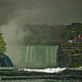 Niagara Falls In Autumn by Rosemary McGahey