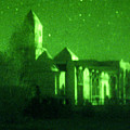 Night Vision Mosque Kandahar by Thomas Michael Corcoran