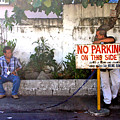 No Parking This Side by Jez C Self