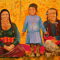 North American Native Family  by Nicole Shaw