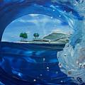 North Shore Window Barrel  Right by Danita Cole
