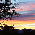 Northern Ca June Sunset  by Angie Anliker