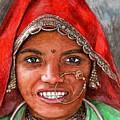 Northindian Woman by Nicole Zeug