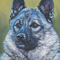 Norwegian Elkhound by Lee Ann Shepard