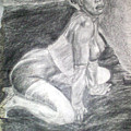 Nude Study 1 by Norman Sparrow