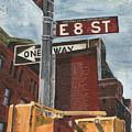 Nyc 8th Street by Debbie DeWitt