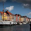 Nyhavn In Copenhagen by Paul Davis