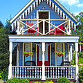 Oak Bluffs Gingerbread Cottages 4 by Mark Sellers