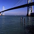 Oakland Bay Bridge 1985 by Lee Santa