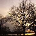 Oakwood Lakes Sunset by Ralph Steinhauer